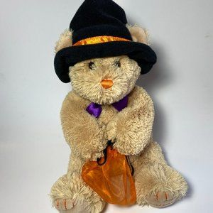 Collectible Halloween Godiva Chocolate Plush Teddy Bear Witch